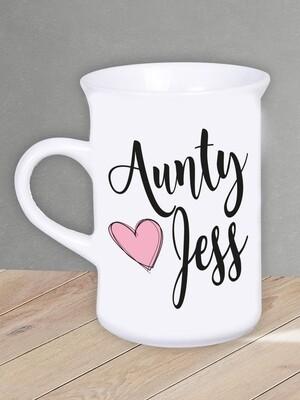 Personalised Aunty Mug