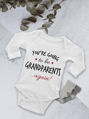 Personalised Grandparents Baby Onesie