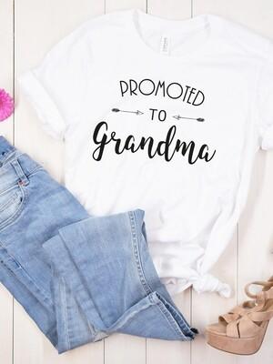 Personalised Ladies Promoted Tshirt
