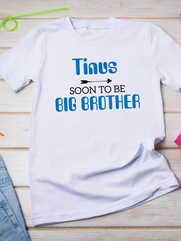 Personalised Brother Tshirt