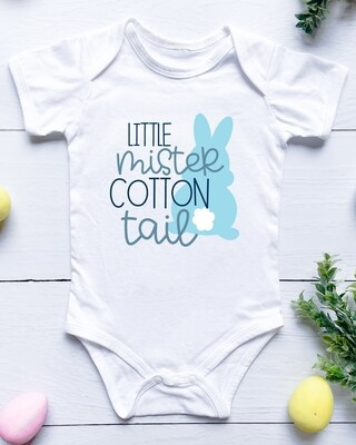 Personalised Cotton Tail Baby Onesie