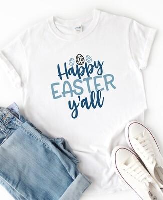 Personalised Happy Easter Tshirt