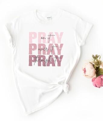 Personalised Pray Tshirt
