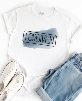 Personalised Forgiven Tshirt