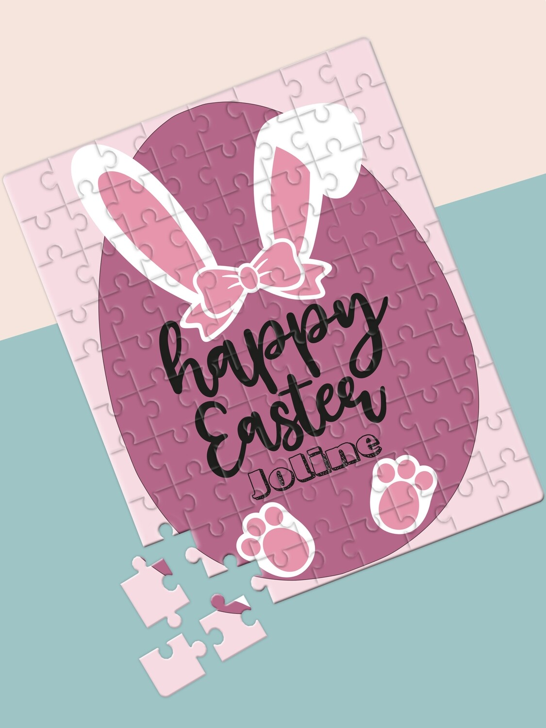 Personalised Happy Easter Puzzle