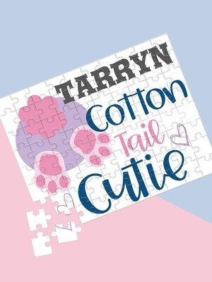 Personalised Cotton Tail Puzzle