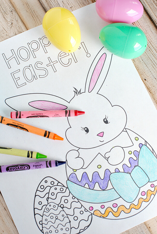 Easter Coloring Book - INSTANT DOWNLOAD
