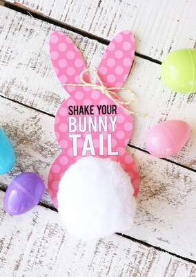 Easter Bunny Tags - INSTANT DOWNLOAD