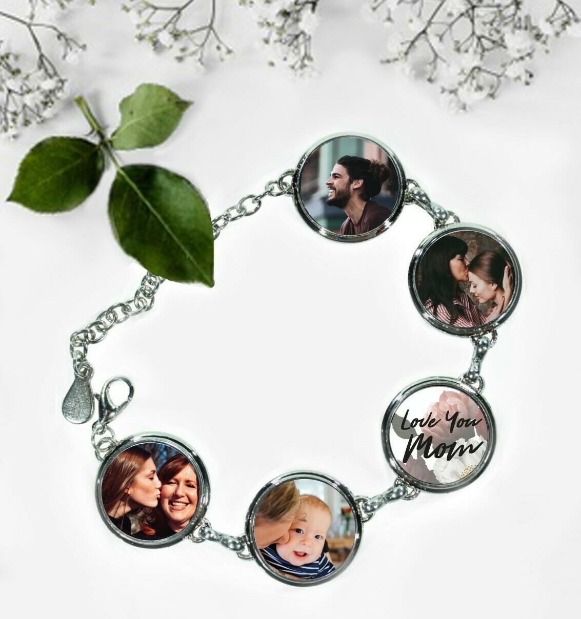 Personalized Photo Bracelet