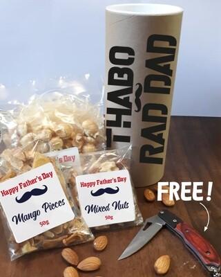Rad Dad Snack Tube & FREE GIFT!