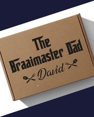 Personalised Braai Master Hamper Box