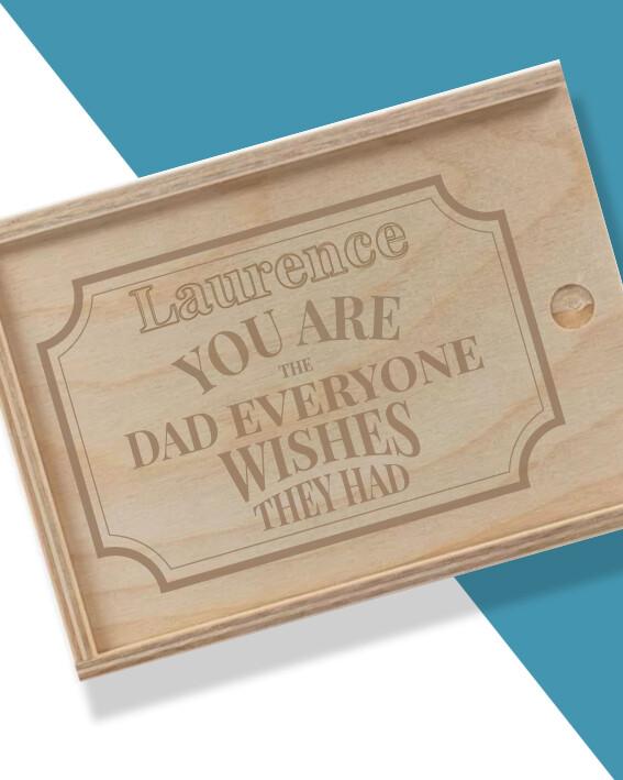 Personalised The Dad Hamper Box