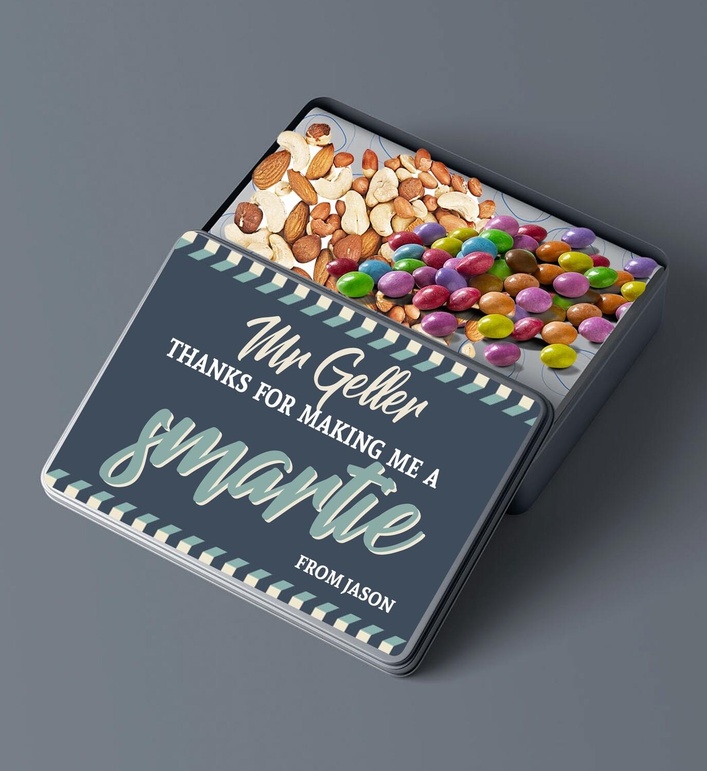 Personalised Smartie Snack Pencilbox