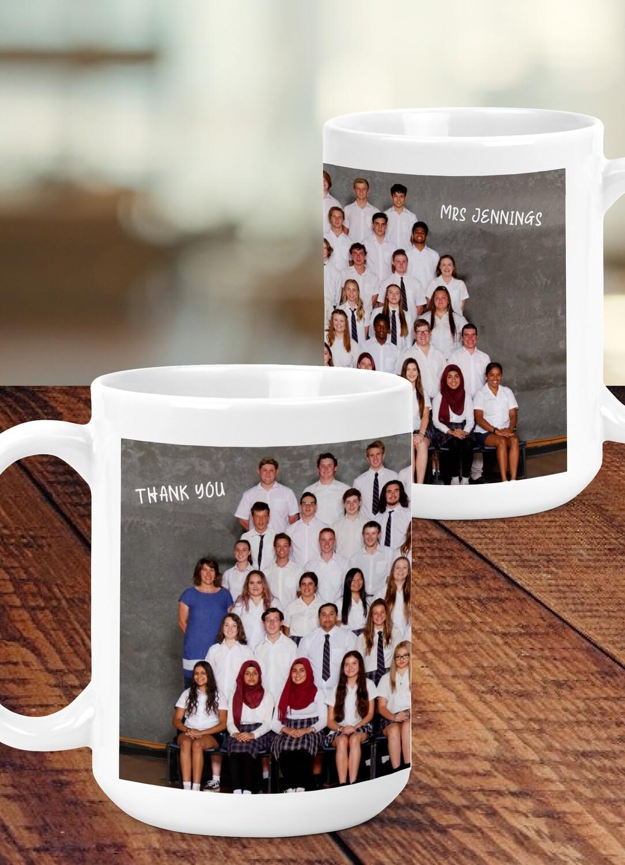 Personalised Teacher Photo Mug