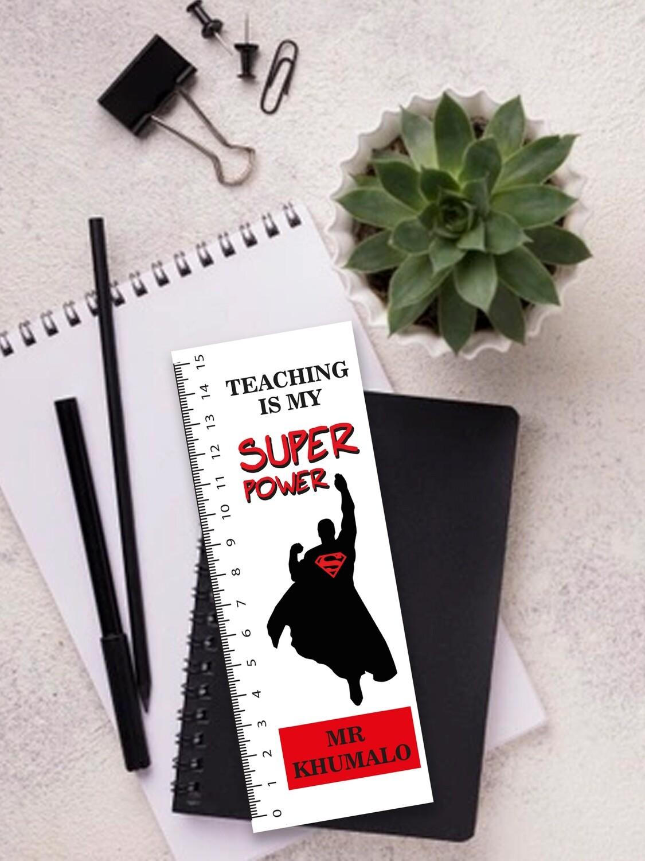 Personalised Super Teacher Ruler