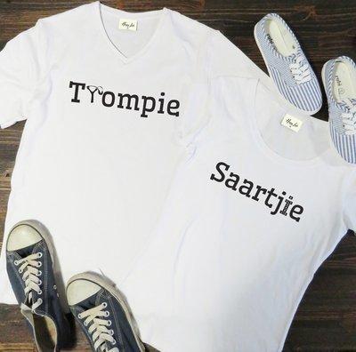 Trompie & Saartjie Couple Tee