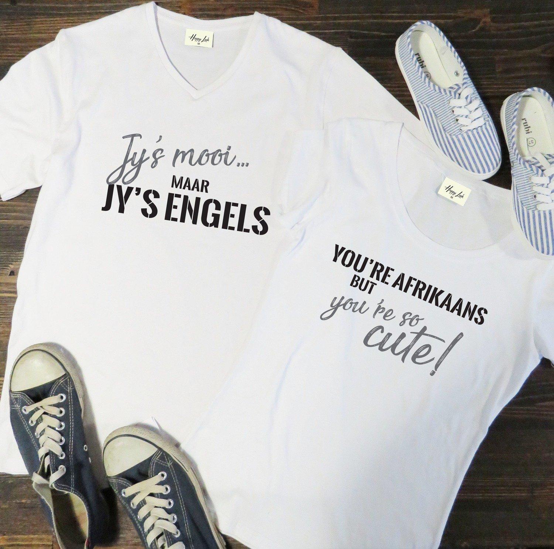 Jy's Mooi, Maar Jy's Engels Couple Set