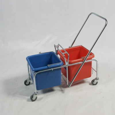Trolley - Plastic Bucket 2 x 20L