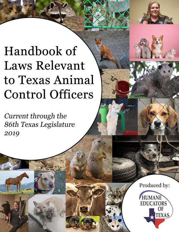 Handbook of Laws for Texas ACOs