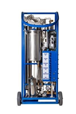 Аппарат для мытья фасадов зданий Элефант 3 - базовая комплектация для 2-х операторов (дополнительно опции - штанги, щетки, шланги)