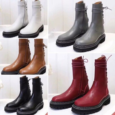 Custom-Made Leather Boots