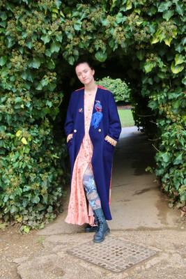 """Hippy Happy """"Kashmiri Dream"""" Wool Coat"""