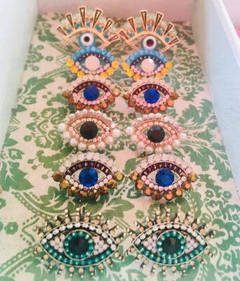 """All Eyes On You"" Earrings"
