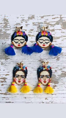 Limited Edition Hippy Happy Frida Earrings