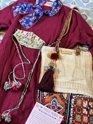 Project Mumbai Hippy Happy Handmade Bags