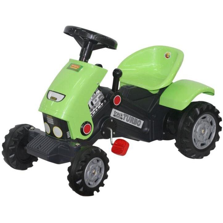 Каталка-трактор с педалями Turbo-2 Полесье 52735