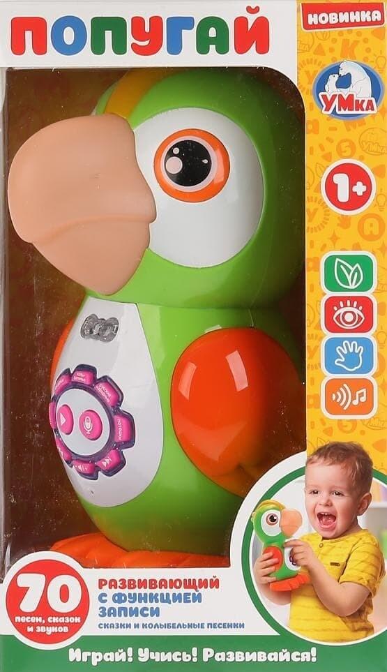 Развивающая игрушка ПОПУГАЙ Умка B380-H05004-R
