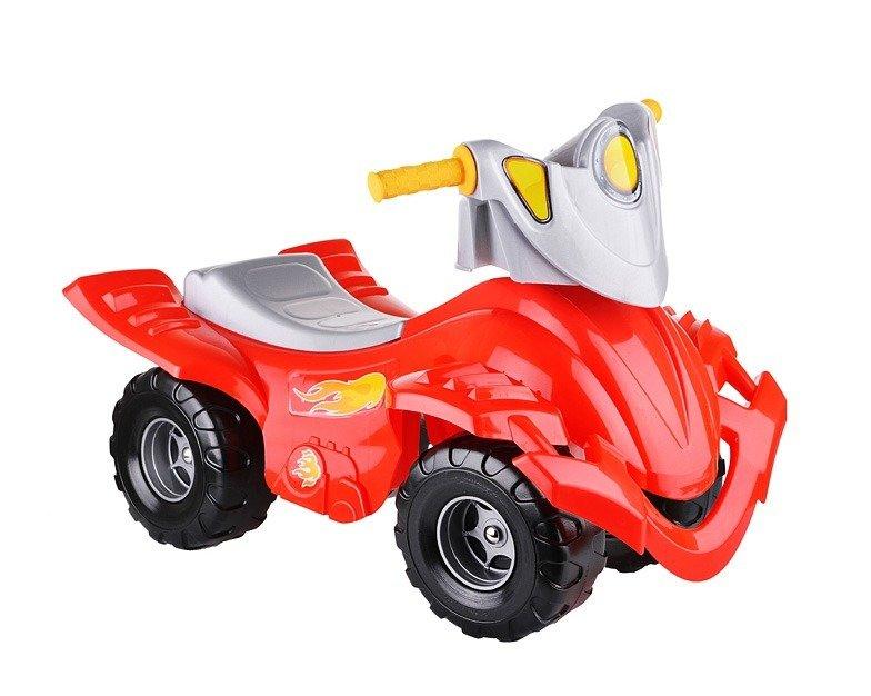 Толокар Каталка-квадроцикл красный Нордпласт 431002