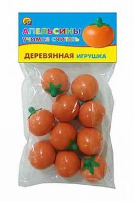 Учимся считать Апельсины Рыжий кот ИД-1571