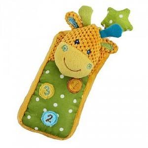 Мягкая игрушка-телефон 93809 Жирафики