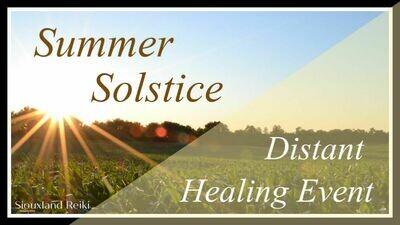 Summer Solstice Distant Healing Event