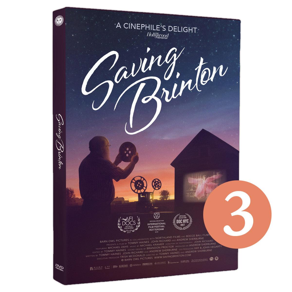 3-Pack: Saving Brinton DVD