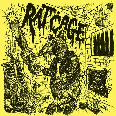 Rat Cage - Screams From The Cage - LP
