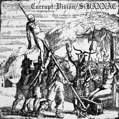 Corrupt Vision/Sibannac - Split - LP