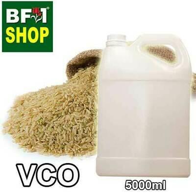 VCO - Rice Bran Virgin Carrier Oil - 5000ml