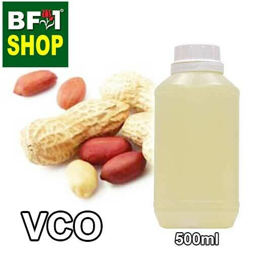 VCO - Peanut Virgin Carrier Oil - 500ml
