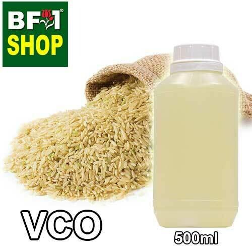 VCO - Rice Bran Virgin Carrier Oil - 500ml