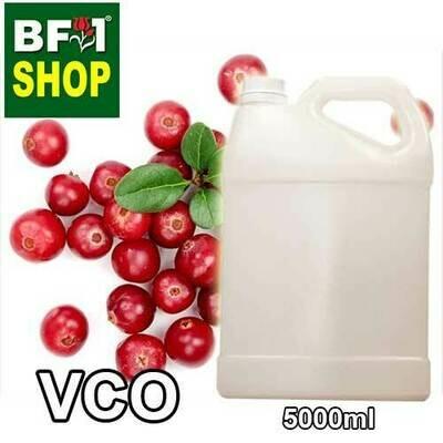 VCO - Cranberries Virgin Carrier Oil - 5000ml