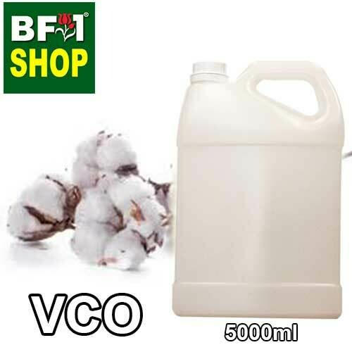 VCO - CottonSeed Virgin Carrier Oil - 5000ml