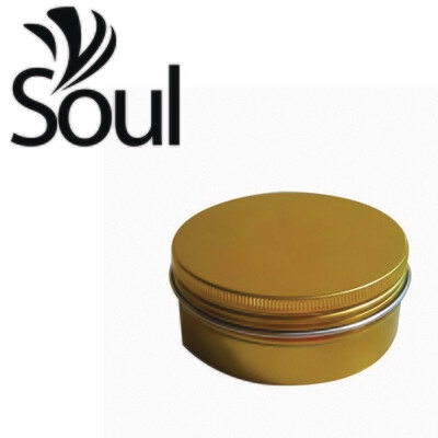 150g - Aluminuim Jar Gold with Strike Cap