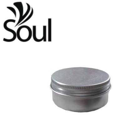 50g - Aluminium Jar Silver With Strike Cap