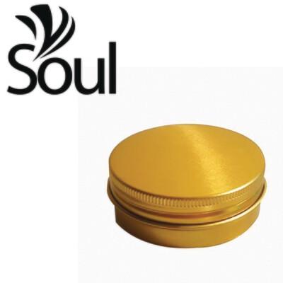 70g - Aluminium Jar Gold With Strike Cap