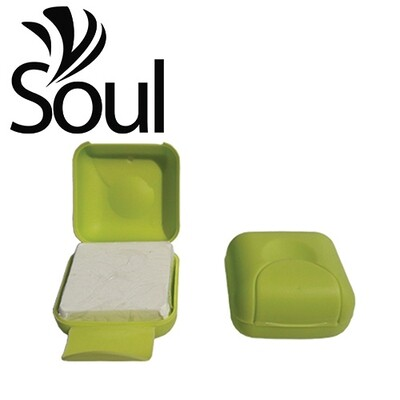 70g/100g - Travel Soap Box Green