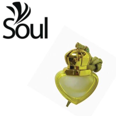 8ml - Car Perfume Bottle Love Shape Yellow