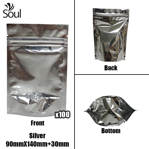 Triangle - Aluminium Side Seal Bag - Full - S - 90x140+30