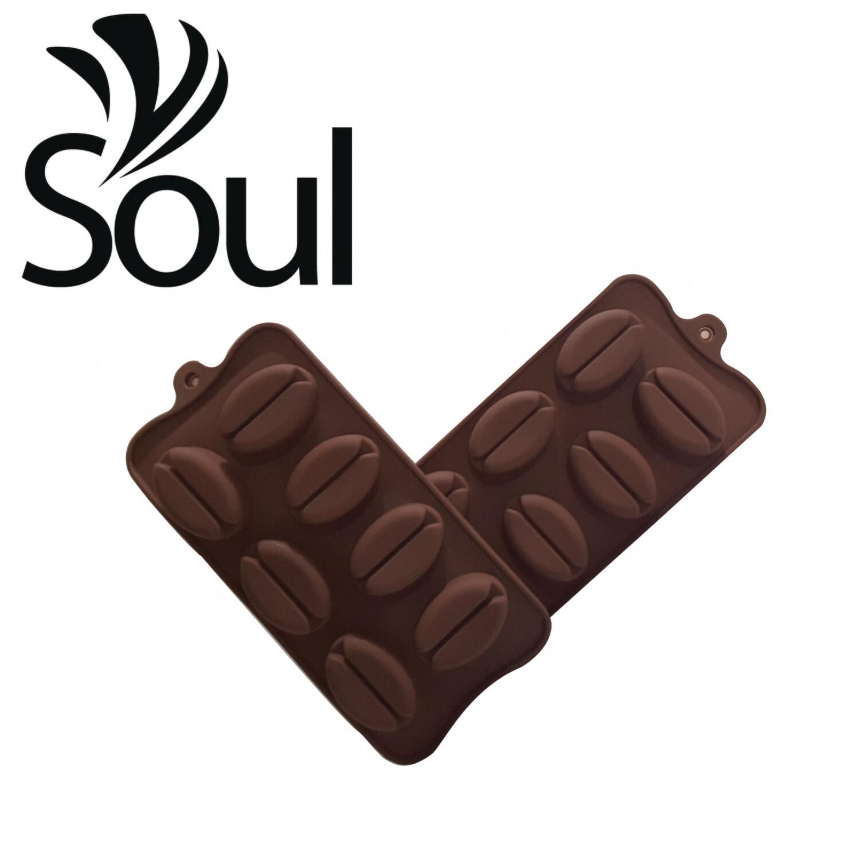 SM - 7x20g Soap Mould Coffee Shape